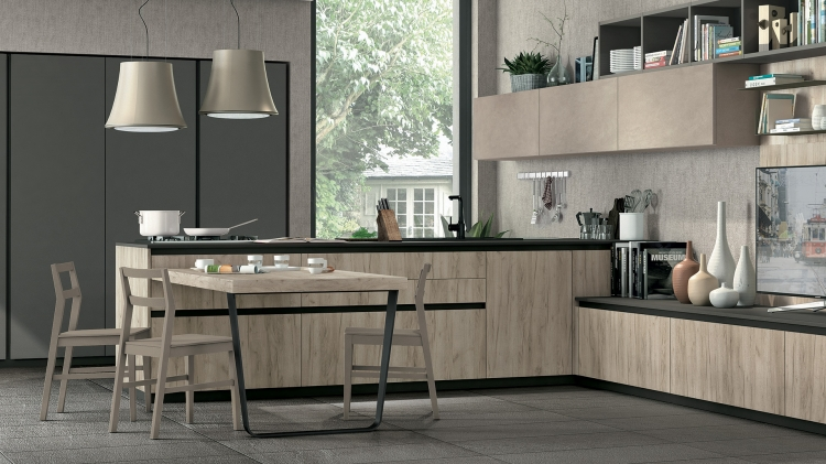 Cucine all americana come nelle serie tv