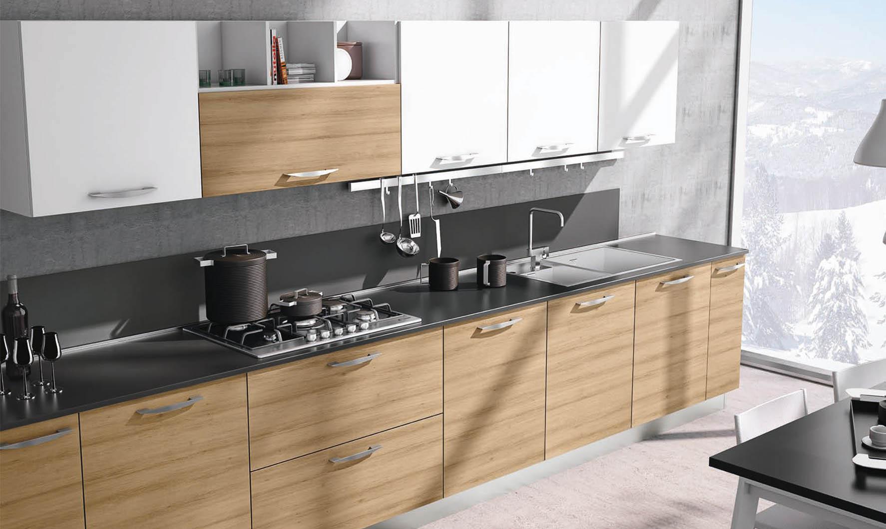 Mobili Cucina Senza Ante anta scorrevole, basculante, a vasistas: quale sistema di