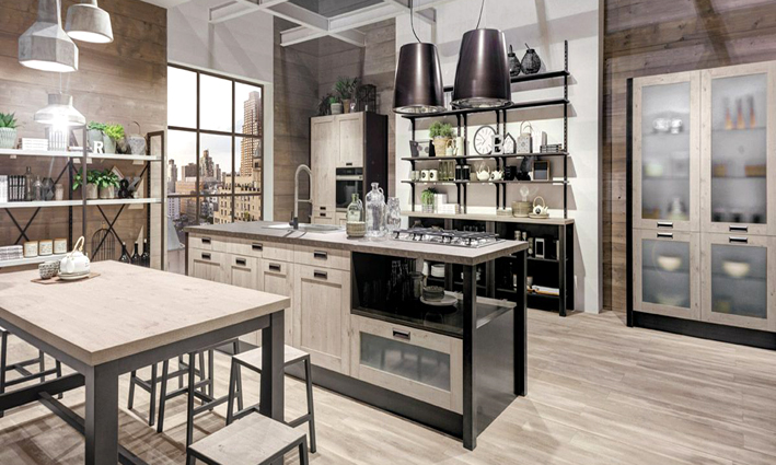 Arredamento cucina americana camera per camera la cucina for Arredamento stile americano