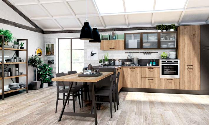 Arredamento cucina 2019 cosa va di moda for Idee arredamento cucine moderne