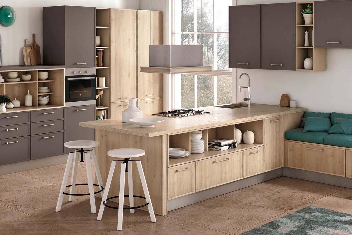 Cucine Moderne in Legno: la tradizione che si rinnova