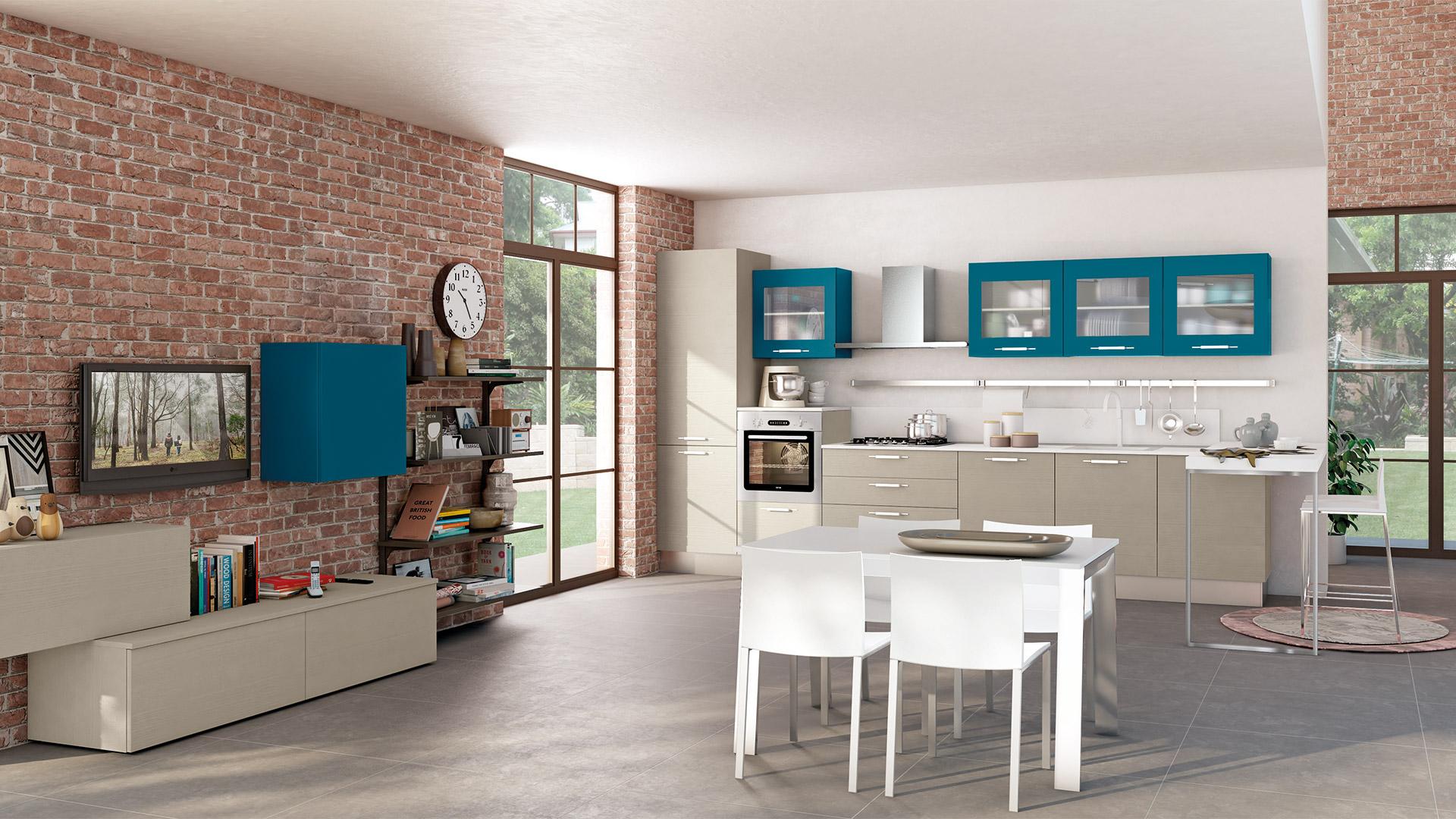 Cucina moderna lube kyra creo kitchens - Cucina lube kyra ...