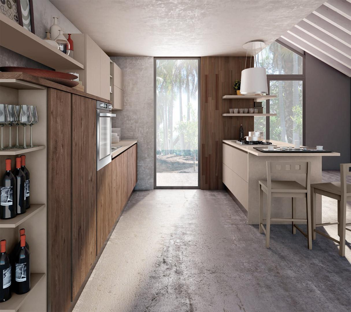 Cucina Kyra Creo Prezzo cucina moderna lube - kyra creo kitchens