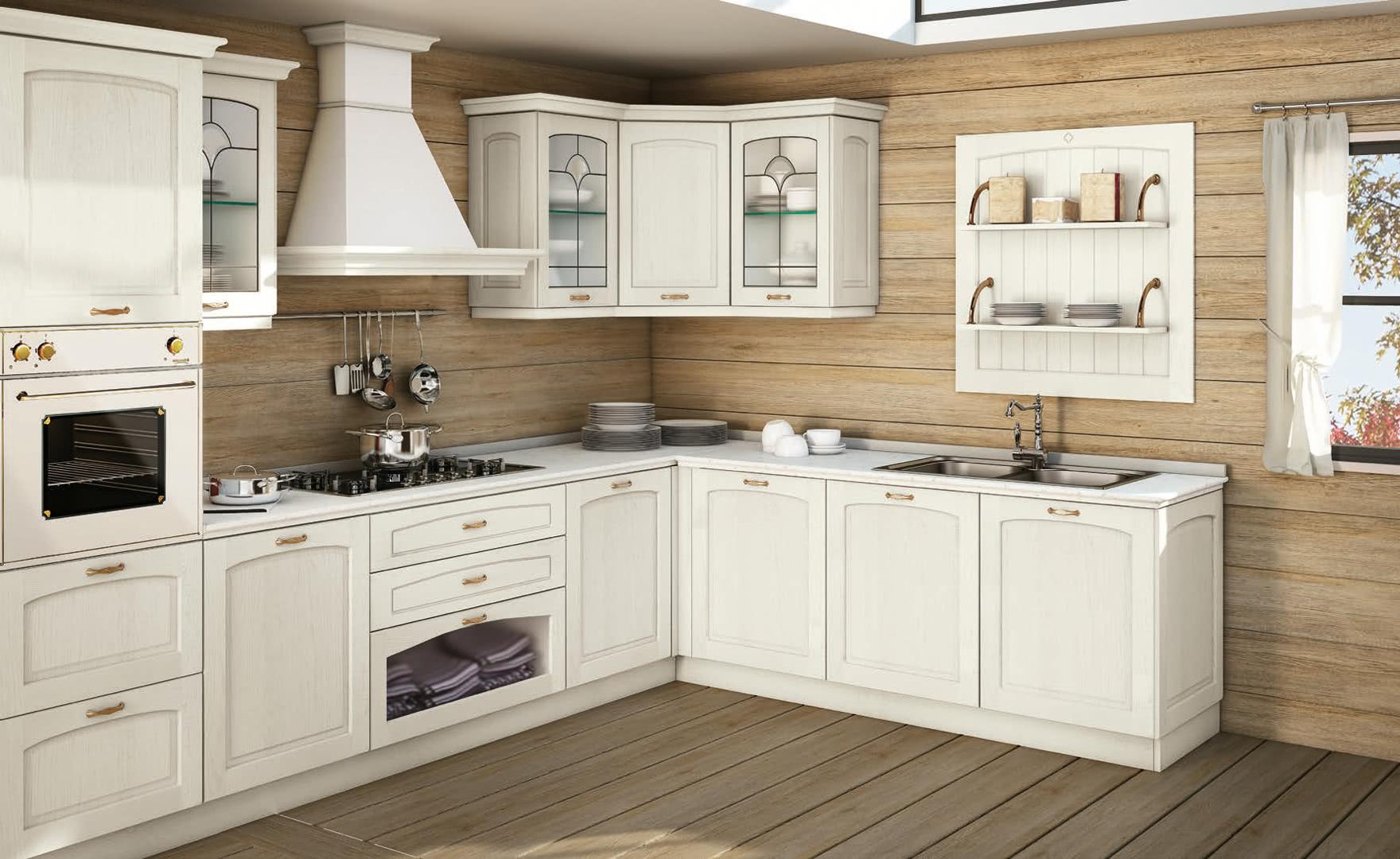 Cucina classica lube malin creo kitchens - Cucine lube creo ...