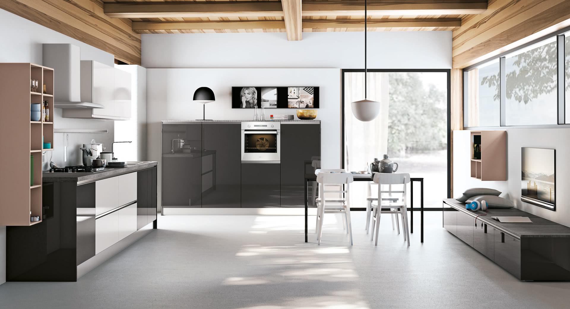 Cucina moderna lube nita creo kitchens for Dos arredamenti