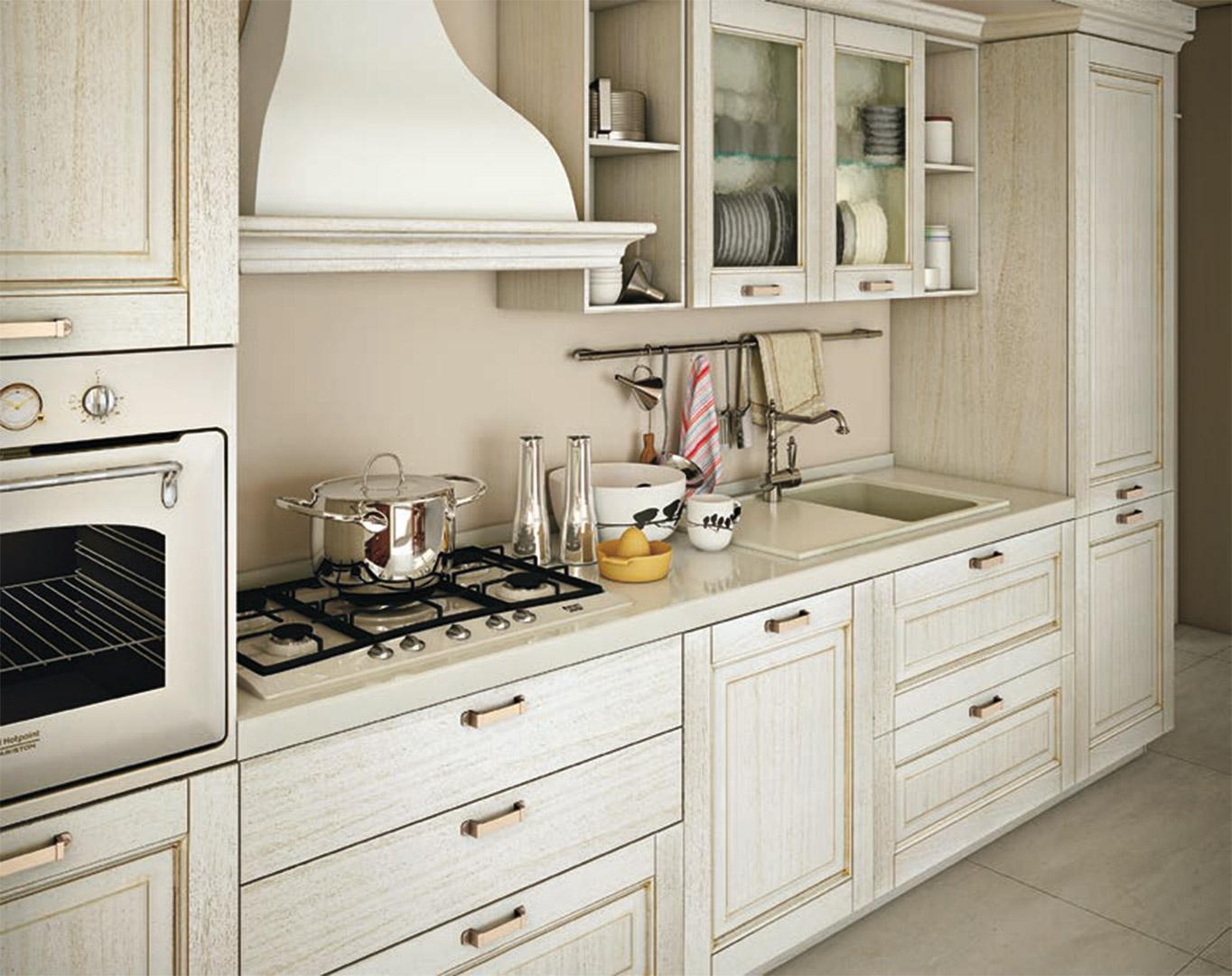 Cucina classica lube oprah creo kitchens - Cucine lube in offerta ...