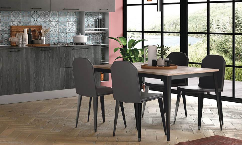 Sedie e tavoli per cucine moderne