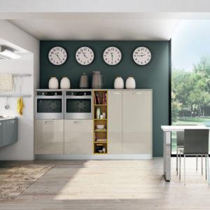 Cucina moderna lube zoe creo kitchens - Strato cucine outlet ...