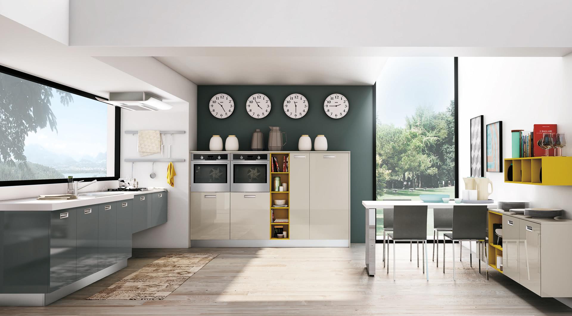 Cucina moderna lube zoe creo kitchens for Cucina zoe